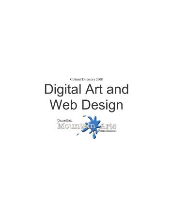 Digital Art and Web Design - artsPeak