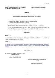 MINISTERE DE L'EMPLOI, DU TRAVAIL ... - Pays Midi-Quercy