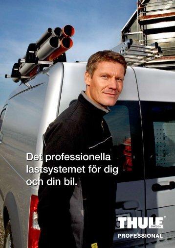 Det professionella lastsystemet för dig och din bil.