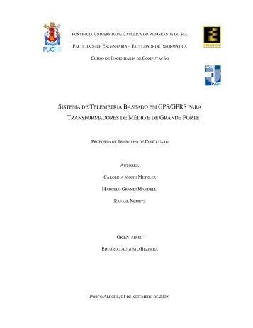 SISTEMA DE TELEMETRIA BASEADO EM GPS/GPRS PARA ... - GSE