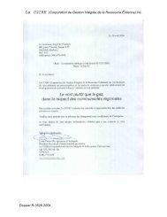 La CGIRE (Corporation de Gestion Intégrée de la Ressource ...