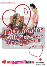 2011_153C_Brochure Nuttige info voor de donor_F.indd - Rode Kruis