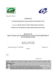 Biogas production - DGS