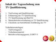 Tarifvertrag zur Qualifizierung - IG Metall