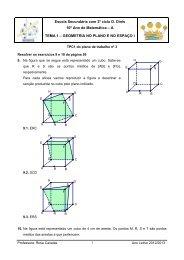 Resolver os exercícios 9 e 10 da página 59