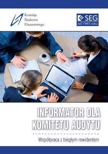 Informator dla Komitetu Audytu - Komisja Nadzoru Finansowego
