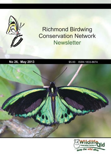 Richmond Birdwing Conservation Network Newsletter - Wildlife ...