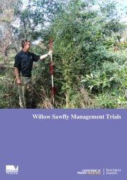 Willow Sawfly Management Trials - Weeds Australia