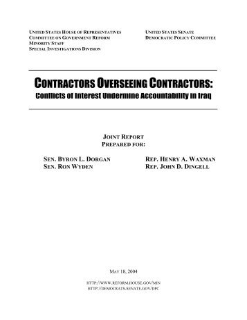 contractors overseeing contractors - Government Executive