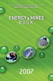 Energy and Mines Book English Version - Ministère de l'énergie et ...