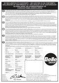 Operators Manual Operators Manual Manuel De L ... - Belle Group - Page 2