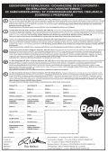 Operators Manual Operators Manual Manuel De L ... - Belle Group - Page 3