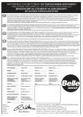 Operators Manual Operators Manual Manuel De L ... - Belle Group - Page 4