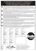 Operators Manual Operators Manual Manuel De L ... - Belle Group - Page 5