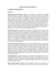 HOJAS DE VIDA DIRECTIVOS COMCEL S.A A. MIEMBROS DE ...
