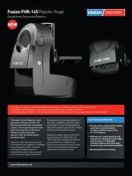 Fusion FHR-145 Robotic Head NEW - Vinten Radamec