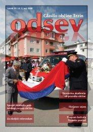 maj 2008 - Občina Trzin