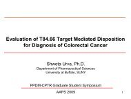 Tumor targeting project