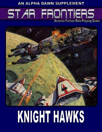 Star Frontiers Knight Hawks - Star Frontiersman