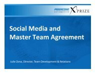 Social Media and Master Team Agreement - Progressive Insurance ...