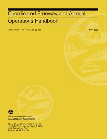 coordinated freeway - (TMC) Pooled-Fund Study - U.S. Department ...