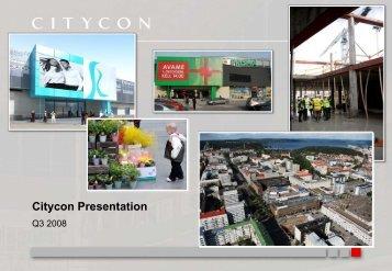 Citycon Presentation