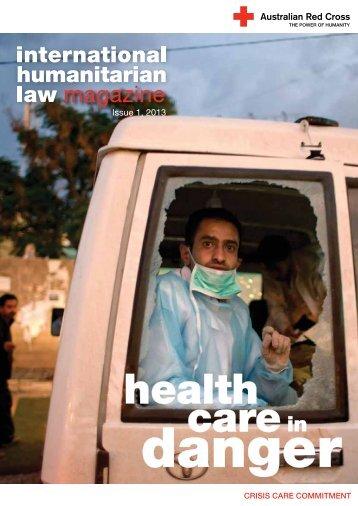 Health Care in Danger - Australian Red Cross