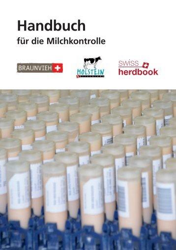 Handbuch für die Milchkontrolle - SwissHerdbook