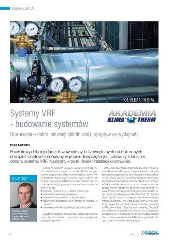 Systemy VRF ‑ budowanie systemów - Klima-Therm