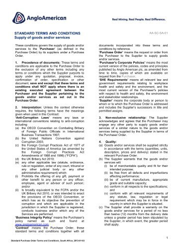 English PDF [ 189KB ] - Anglo American