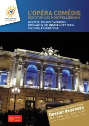 LLOPÉRA COMÉDIE - Montpellier Agglomération