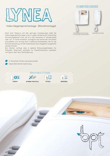 Lynea bpt - IP CCTV GmbH