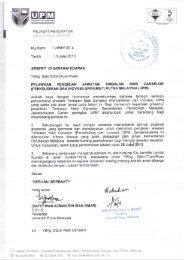 (penyelidikan dan inovasi) universiti putra malaysia (upm)
