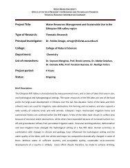 Senate Legistlation - Addis Ababa University