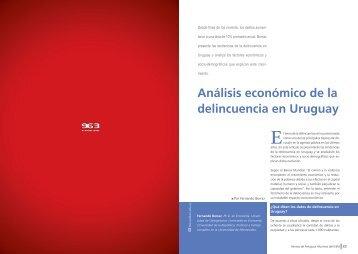 Análisis económico de la delincuencia en Uruguay - IEEM