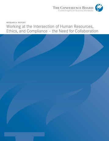 Working at the Intersection of Human Resources, Ethics, and ...