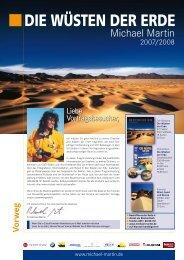 Wüsten der Erde - Michael Martin