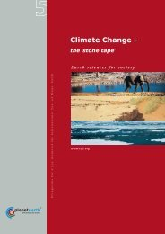 Climate Change - International Year of Planet Earth