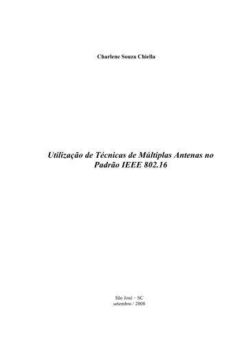 Utilização de Técnicas de Múltiplas Antenas no Padrão IEEE ... - Wiki