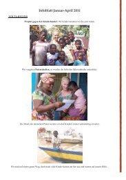 Infoblatt Januar-April 2011 - Madamfo Ghana