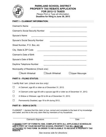 Rent Rebate Form. Www Shophorsetrader Com: Display Ads Rent Rebate ...