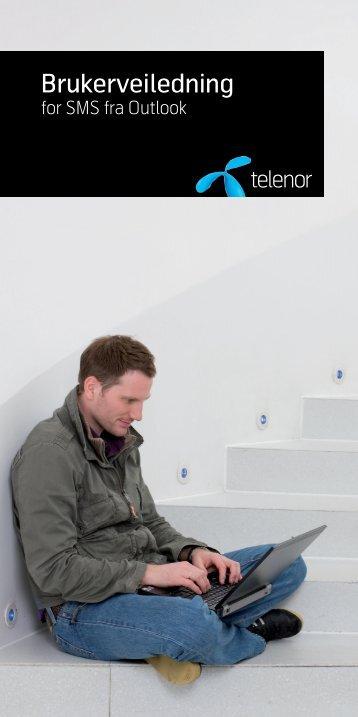 Brukerveiledning for SMS Outlook (PDF, 2mb) - Telenor