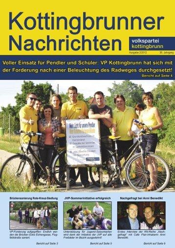 Voller Einsatz für Pendler und Schüler: VP Kottingbrunn hat sich mit ...