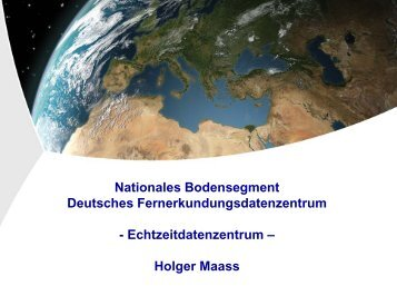 Nationales Bodensegment - DLR