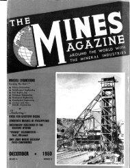 STEEL FOR UIESTERH HEEDS SECOHDHRV ... - Mines Magazine