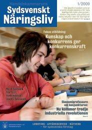 SSNL 1.09 final.pdf - Sydsvenska Industri och Handelskammaren