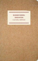 Business Model innovation cultural Heritage - DEN