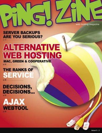 Ping! Zine Magazine - Zine Web Tech Magazine