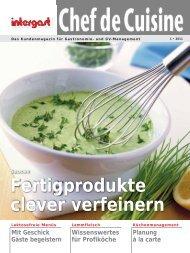Das Kundenmagazin für Gastronomie- und GV ... - Intergast