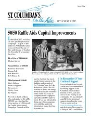 St. Col. Newsletter Spring 2004 - St. Columban's on the Lake ...